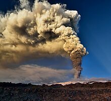 The awakening of Mt. Etna  by Andrea Rapisarda