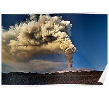 The awakening of Mt. Etna  Poster