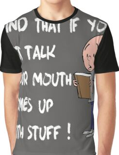Karl Pilkington - Quote Graphic T-Shirt