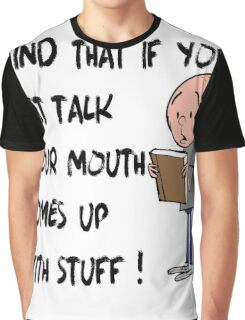 Karl Pilkington - Quote Graphic T-Shirt