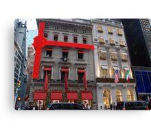 Cartier & Versace.... NYC Canvas Print