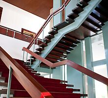 Mahogany Staircase by phil decocco