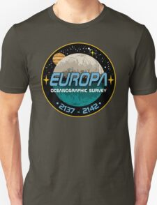 Europa Oceanographic Survey Unisex T-Shirt