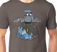 Nightlights and Oven Mitts | Cute Monster Illustration Unisex T-Shirt