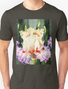 Ruffles Ruffles Iris Garden Unisex T-Shirt