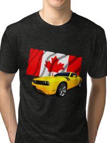 Challenger Canada Tri-blend T-Shirt