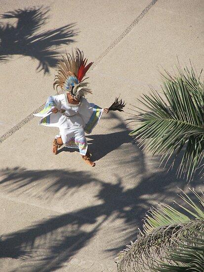 Dancing like in Ancient Times the Aztecs - Bailando como in tiempos remotos los Aztecas by PtoVallartaMex