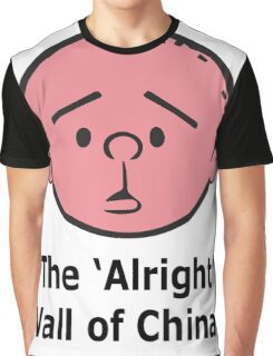 Karl Pilkington - The Alright Wall Of China Graphic T-Shirt