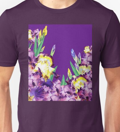 Iris garden Purple Sky Unisex T-Shirt