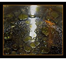 Oil and Water Abstract Photographic Print