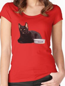 Salem | Orange Women's Fitted Scoop T-Shirt