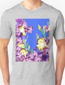 Iris Garden Blue Blue Sky T-Shirt