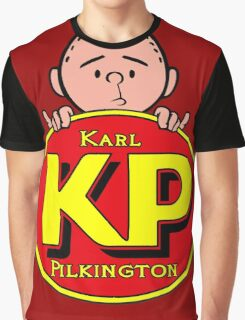 Karl Pilkington - KP Graphic T-Shirt