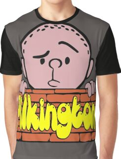 Karl Pilkington - Peeking Pilkington Graphic T-Shirt