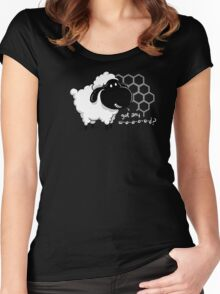 Catan You Give Me Wood? | Settlers of Catan Board Game Geek Sheep Women's Fitted Scoop T-Shirt