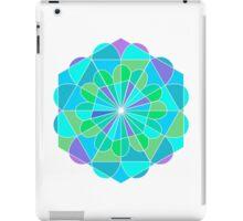 Stained Glass Mandala - zen iPad Case/Skin