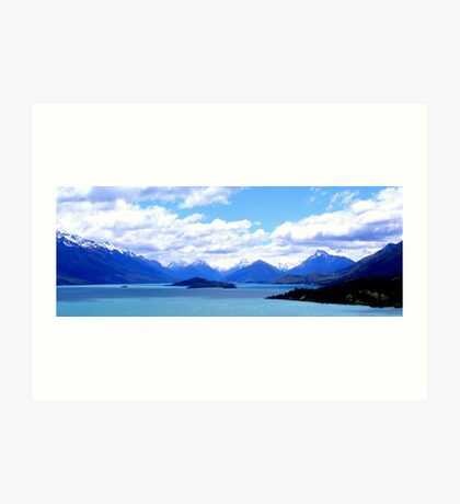 Mountains New Zealand Art Print
