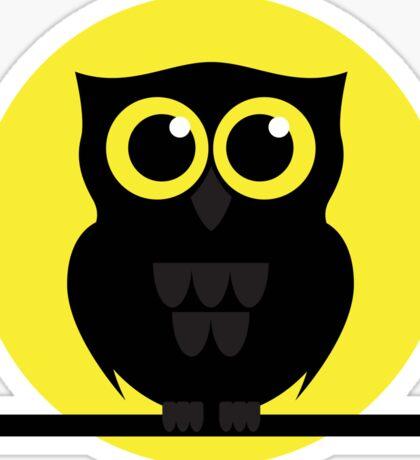Halloween Shabby the Night Owl Sticker