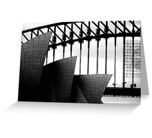 Sydney Monuments Greeting Card