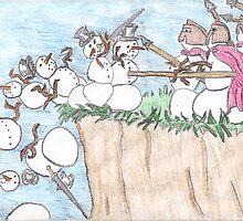 300 Snowmen by DrewSomervell