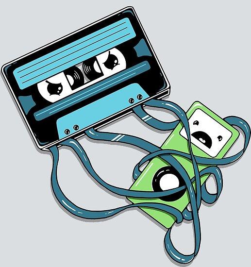 The Comeback | Retro Music Cassette Vs iPod by BootsBoots