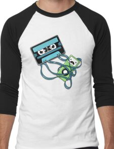 The Comeback | Retro Music Cassette Vs iPod Men's Baseball ¾ T-Shirt