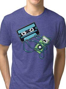 The Comeback   Retro Music Cassette Vs iPod Tri-blend T-Shirt