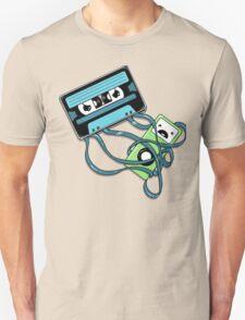 The Comeback   Retro Music Cassette Vs iPod T-Shirt