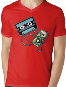 The Comeback | Retro Music Cassette Vs iPod Mens V-Neck T-Shirt