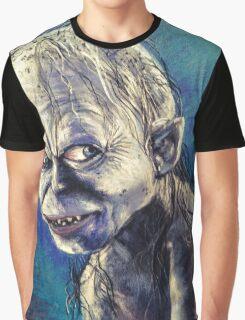 Portrait of Gollum Graphic T-Shirt