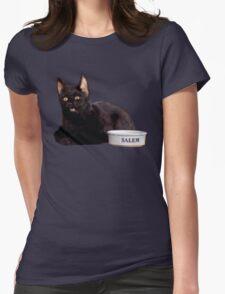 Salem | Steel Blue Womens Fitted T-Shirt