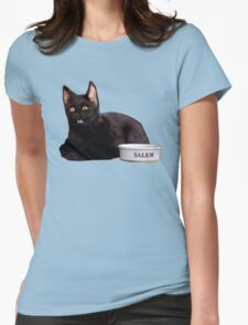Salem | Steel Blue Womens Fitted T-Shirt