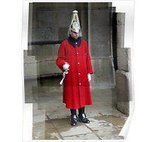 An english guard Poster