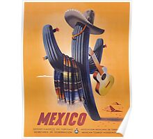 Mexico Travel Poster 1 Poster