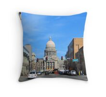 Down-Town Boise, IDAHO, USA Throw Pillow