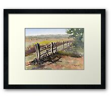 Knoop's Farm Framed Print