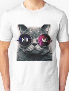 Phi Mu Galaxy Cat T-Shirt