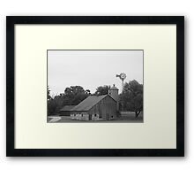 2008 windmill 1 Framed Print