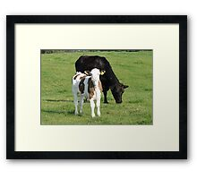 Moover and Milkshaker Framed Print