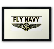 Navy Aircrew Wings Framed Print