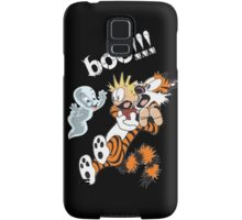Calvin Scaried by Little Cute Ghost Samsung Galaxy Case/Skin