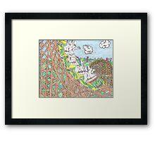 KKK Rollercoaster Framed Print