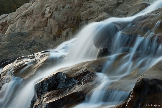 alluvial fan by John  Sperry