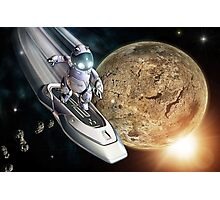 Space Surfer Photographic Print