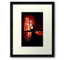Satine Framed Print