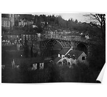 Iron Bridge town Poster