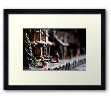 Small Town Values Framed Print
