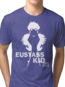 Supernova Eustass Kid Vector WHITE Tri-blend T-Shirt