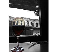 Scene From an Italian Restaurant Photographic Print