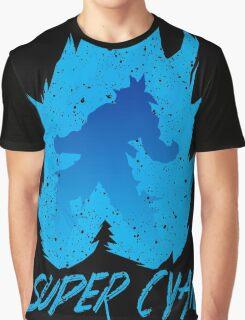 Super Cyan Graphic T-Shirt